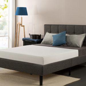 sleep master ultima mattress on platform bed frame