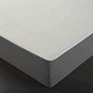 zinus responsive memory foam mattress close up